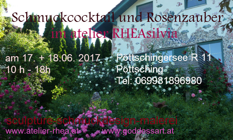 Schmuckcocktail +Rosenzauber