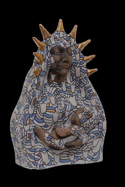 goddessart-Lilienjungfrau ohne Hintergrund
